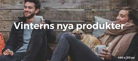 Vinterns nya producter